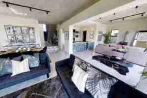 Checkout The Interior & Exterior View Of Bonang Matheba's New Mansion (Photos)